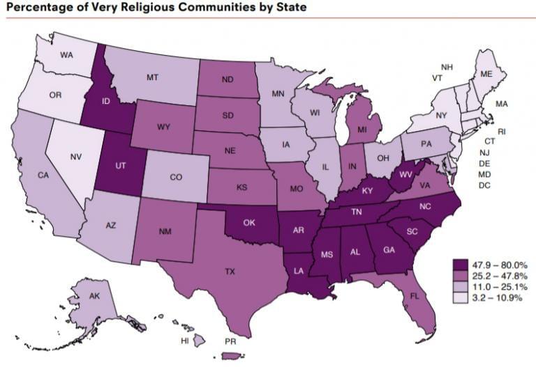 kkk america atheism nonreligious christianity discrimination