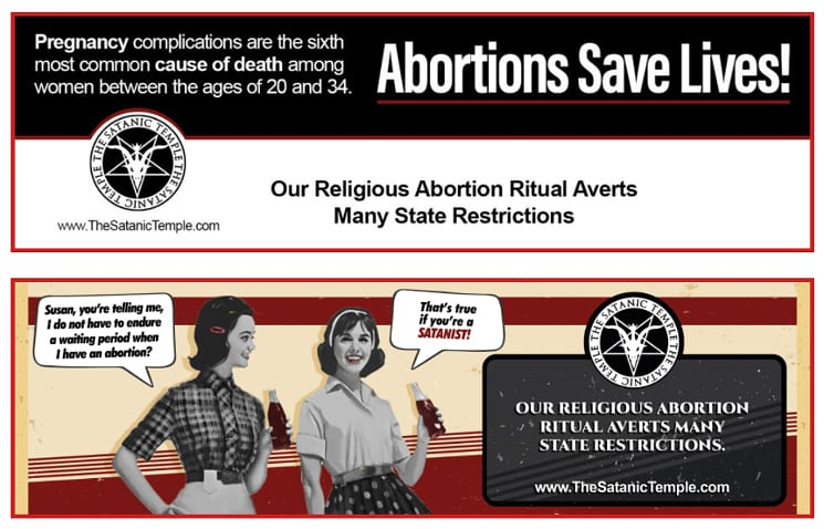 abortion laws satanic temple politics bible christianity