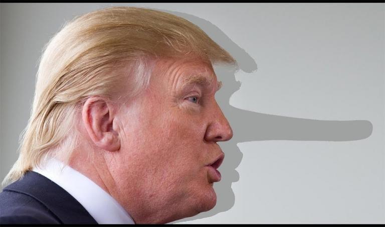 disinformaton lying donald trump law politics