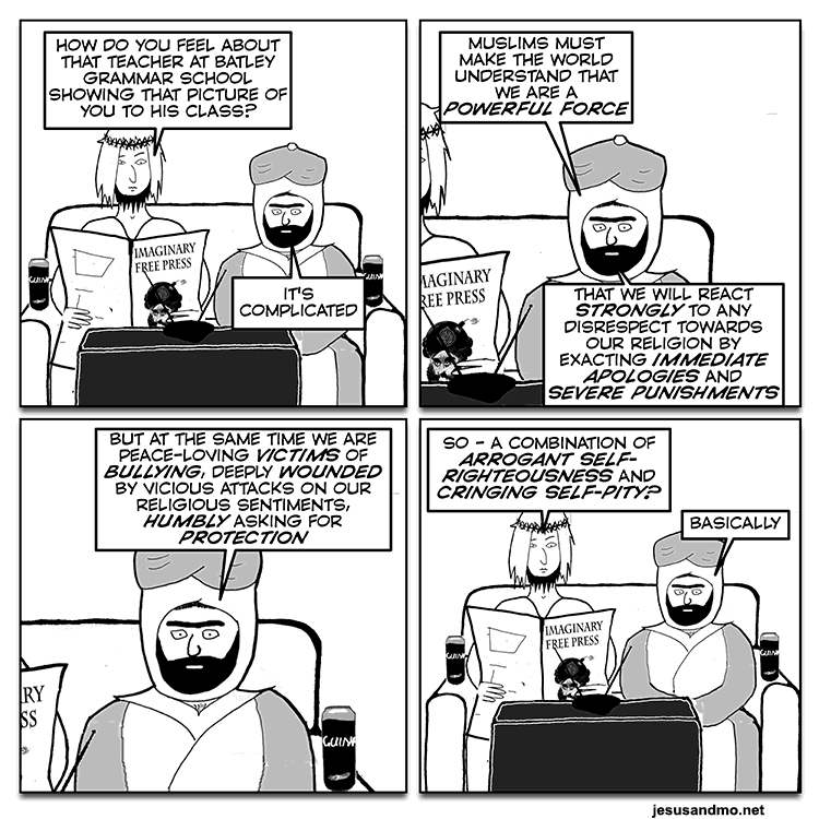 religious zealots bigotry america united kingdom asia islamism muhammad atheism