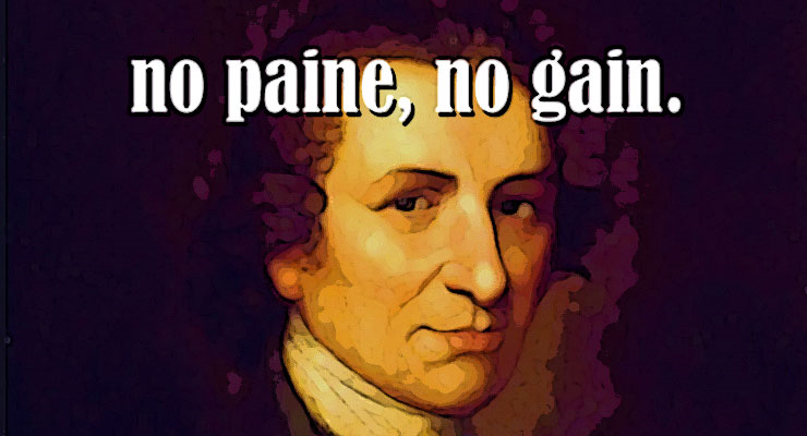 thomas paine deism atheism colonial america government church state separation
