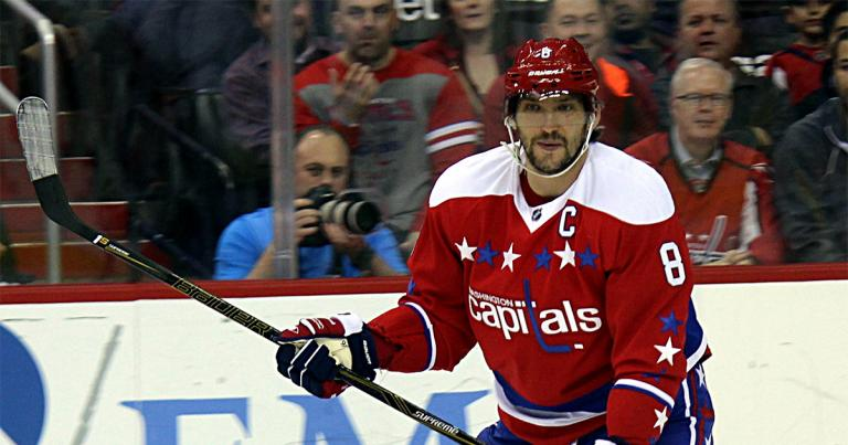 Ovechkin in 2016