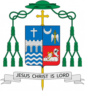 Coat of Arms of Bishop Caggiano (SajoR CC-BY-SA-2.5)
