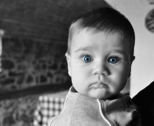 Astonished baby (CC0 Pixabay)