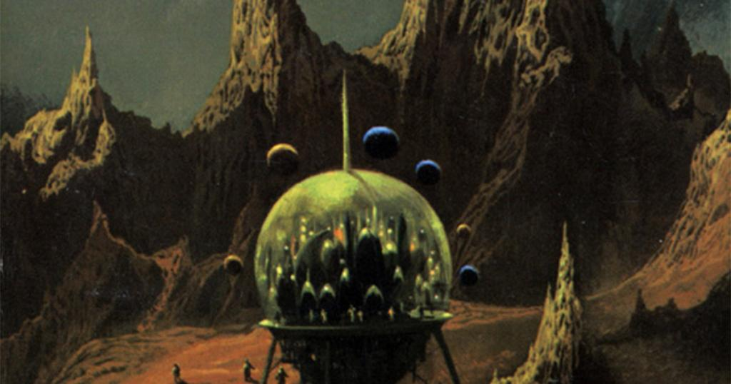 Book Cover of Issac Asimov Pebble in the Sky (RA.AZ CC BY 2.0 flickr.com/photos/uflinks/4956467418)