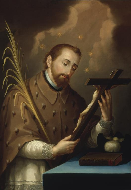 St. John Nepomucene (painted by Jose Campeche in the Smithsonian AMerican Art Museum)