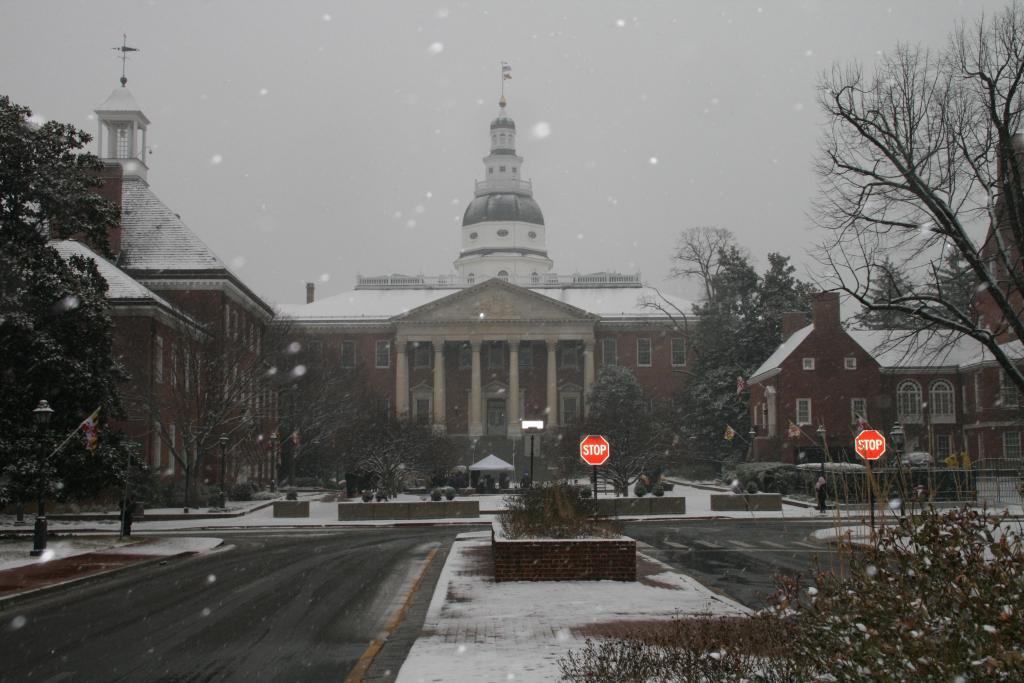Maryland State Capital (CC0 via Wikimedia)