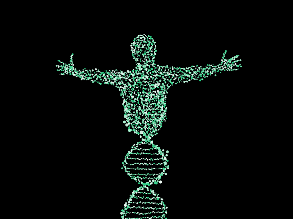 Man made by DNA (CC0 pixabay)