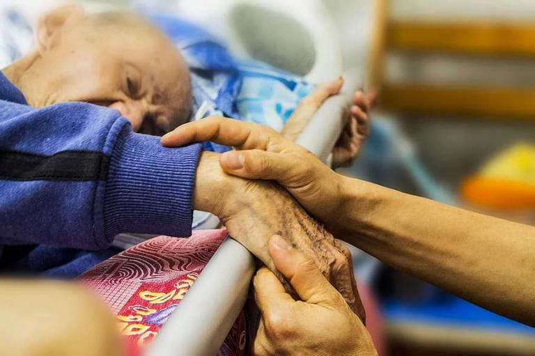 Person in hospice