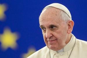 Official visit of His Holiness Pope Francis to the European Parliament