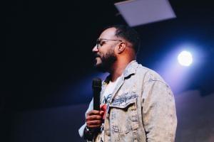 Preacher at Igreja Batista Atitude, Brazil