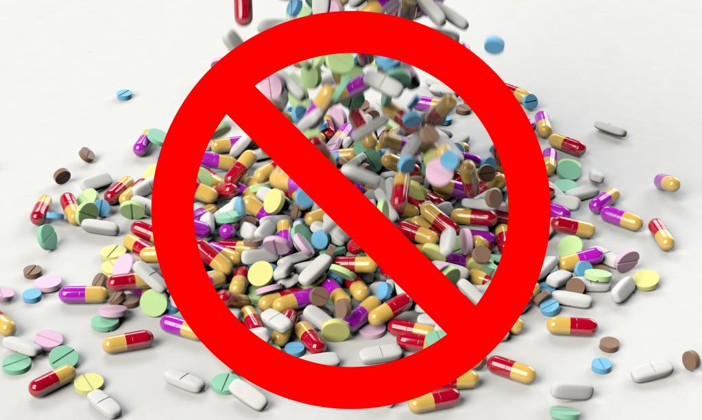 Say no to almost all pills