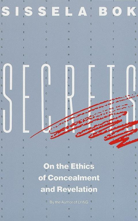 Book Cover of Secrets by Bok (fair use)