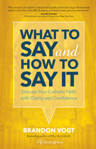 What to Say and How to Say It by Brandon Vogt (book cover)