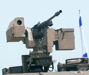 Samson Remote Control Weapon System - a prior remote control gun used by Israel