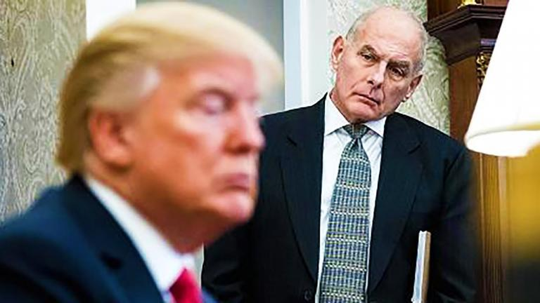 Another One Bites the Dust: White House Chief of Staff John Kelly Makes His Escape