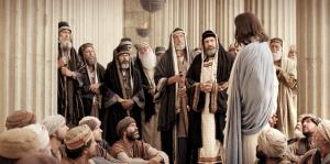 Jesus stands with the poor in opposition to the Pharisees.