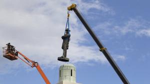 Removal of Confederate statue in New Orleans