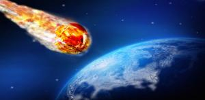 An huge asteroid is heading for a collision with Earth.