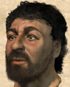 A picture representing Jesus the way the historical Jesus, a first-century Jew, might have looked.