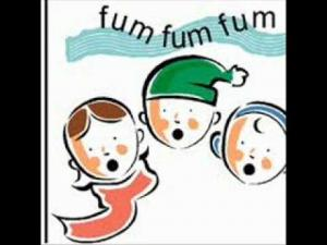 "Children singing ""Fum Fum Fum"""