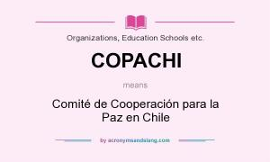 COPACHI: Comite de Cooperacion para la Paz en Chile