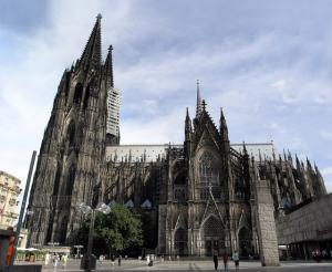 Kolner Dom Cathedral in Cologne, Germany.