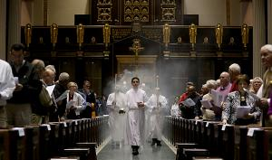 An Entrance Procession is the first of the Introductory Rites of the Mass.