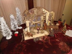 This nativity scene helps my family celebrate Advent and Christmas when celebration seems impossible.