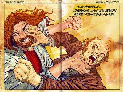Jesus and Darwin