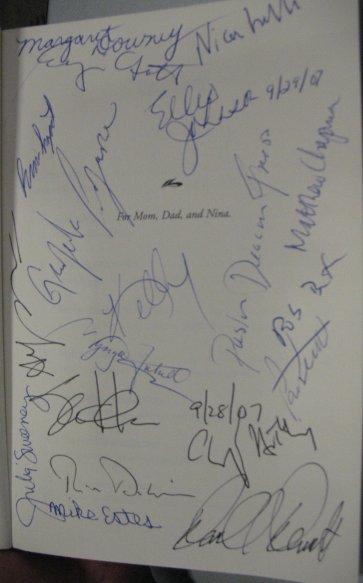 SignedeBayBook
