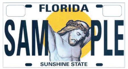 Religious License Plate