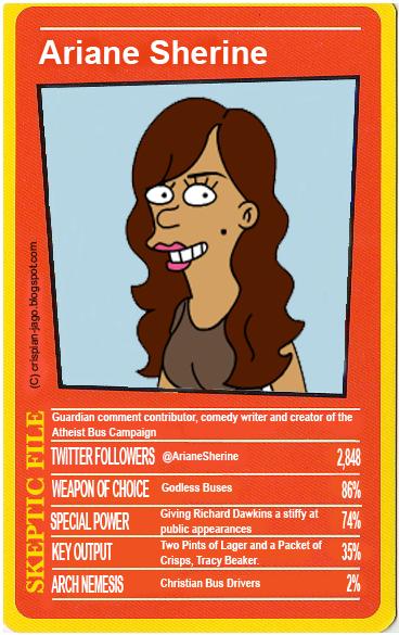 Card Ariane Sherine