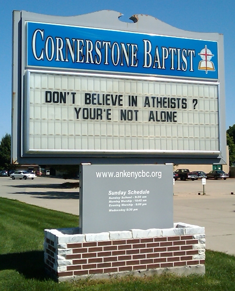 Don't Believe in Atheists