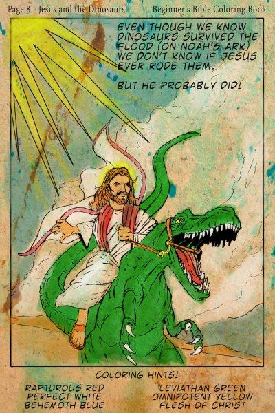 Jesus and Dinosaur