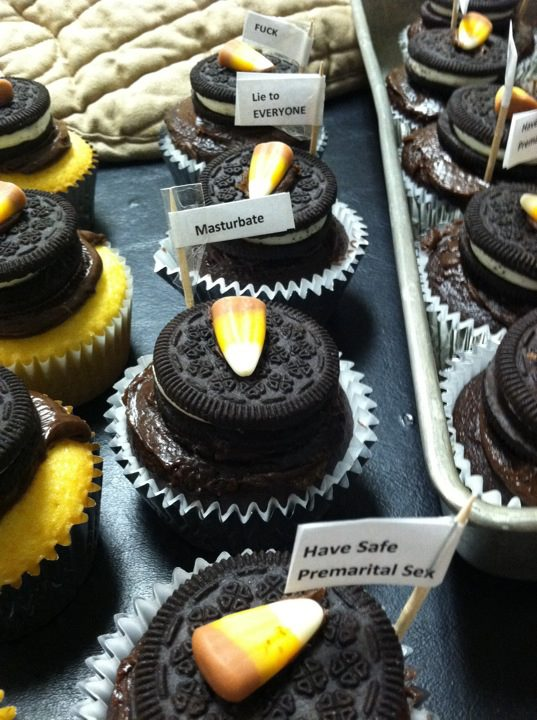 Blasphemous Cupcakes