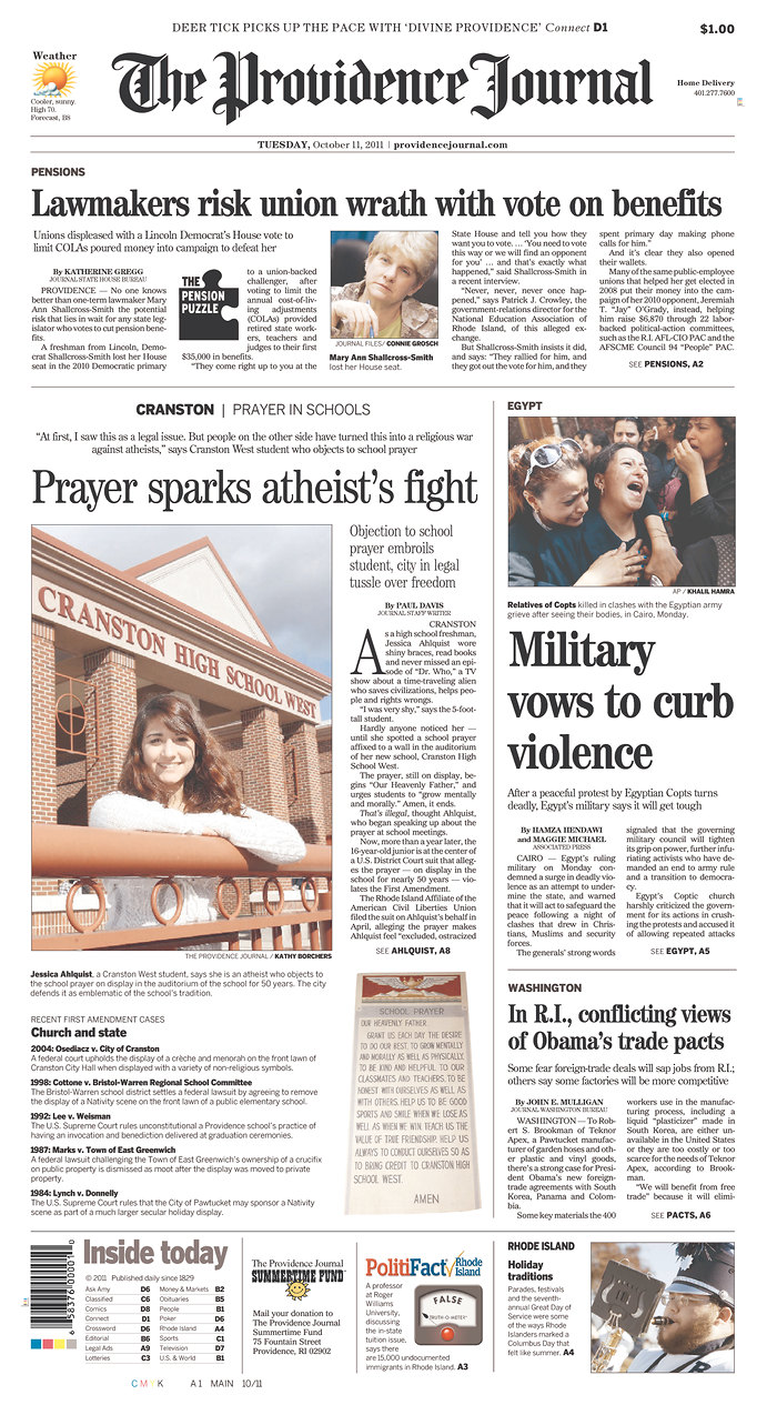 Madison : Providence journal newspaper subscription