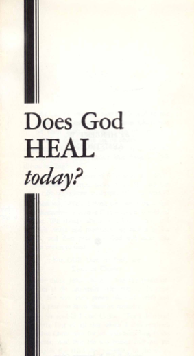 Growing up in a Faith-Healing Cult