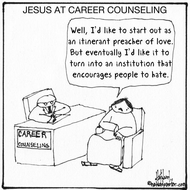 nakedpastor: Career Counseling