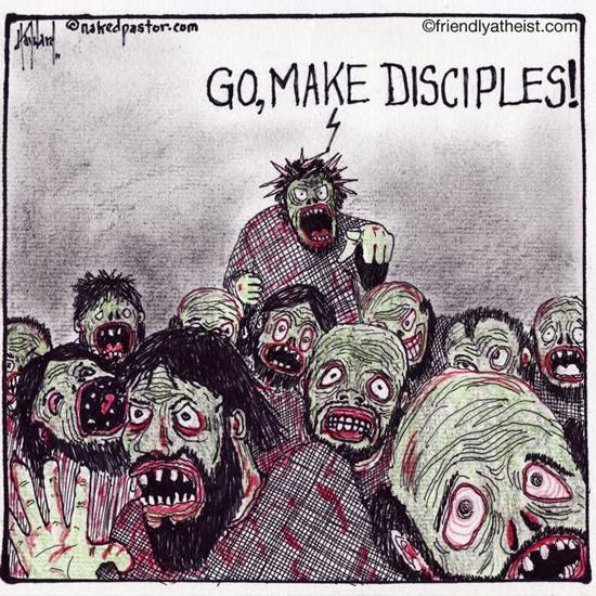 nakedpastor: Go Make Disciples