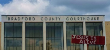 Jesus is Alive in Bradford County, Florida: My Day at a Ten Commandments Protest