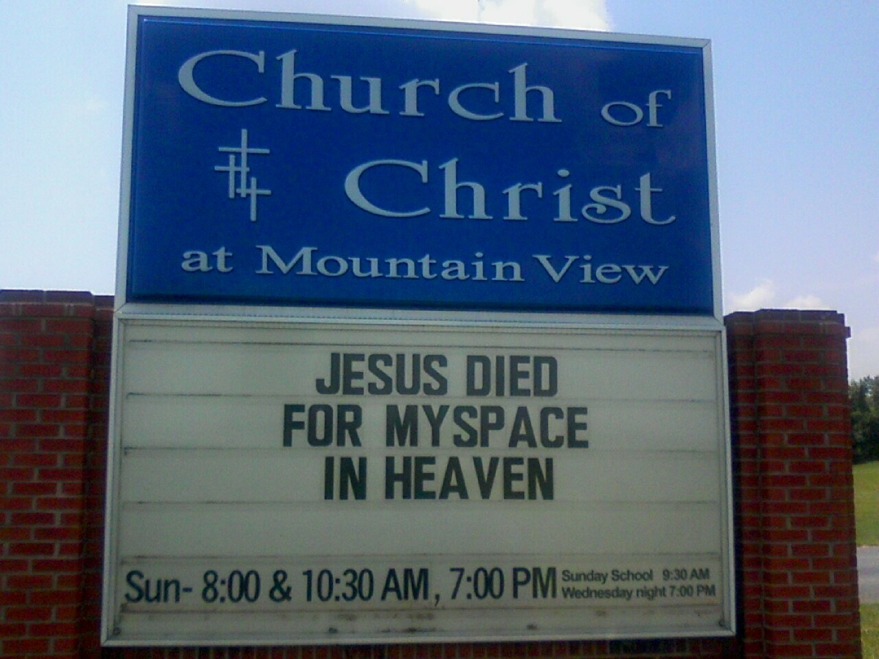 Jesus Died for Myspace in Heaven | Hemant Mehta | Friendly Atheist