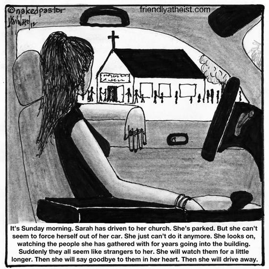 nakedpastor: Then She Will Drive Away