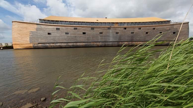 Dutch Millionaire Builds a Replica of Noah's Ark