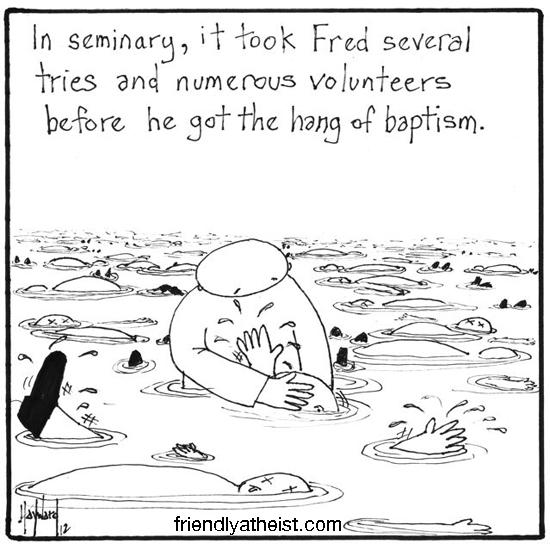 nakedpastor: Practice Baptisms