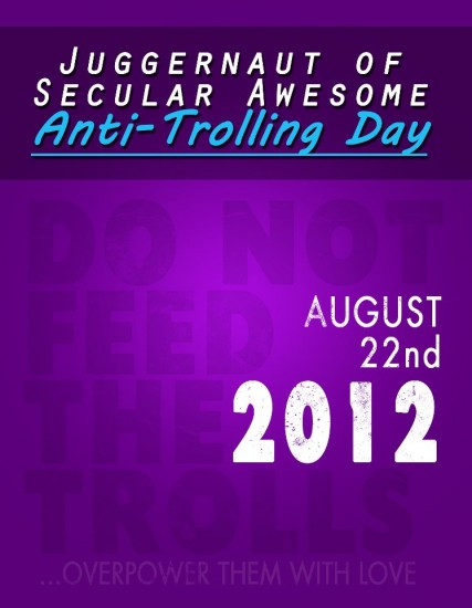 Happy Anti-Trolling Day!