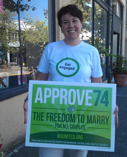 Getting Engaged for Marriage Equality