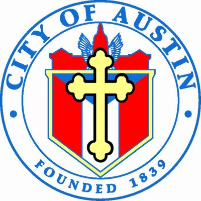 Austin City Seal big cross