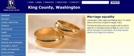 Victory For Marriage Equality In Washington State Now Official