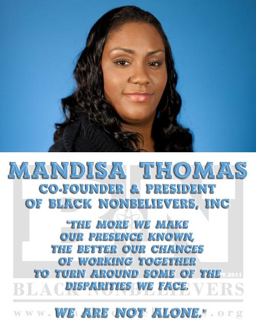 Shades of Black Atheism #3: Mandisa Thomas